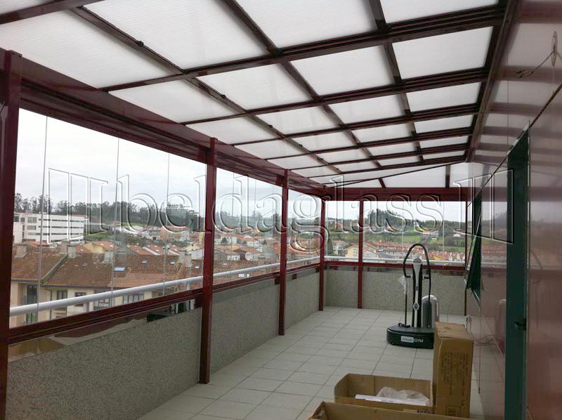 Cerramientos de aticos adraglass - Pergola terraza atico ...