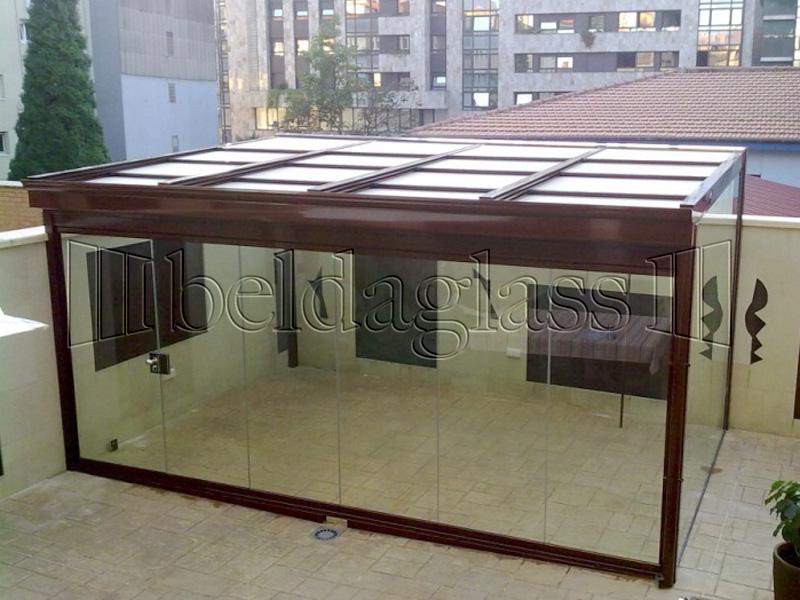 Cerramientos de patios adraglass - Cerramientos de aluminio para porches ...