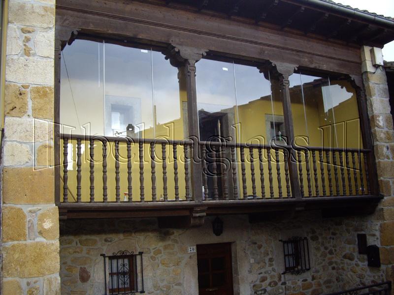 Cortinas de cristal para balcones adraglass - Cortinas de lona para balcon ...