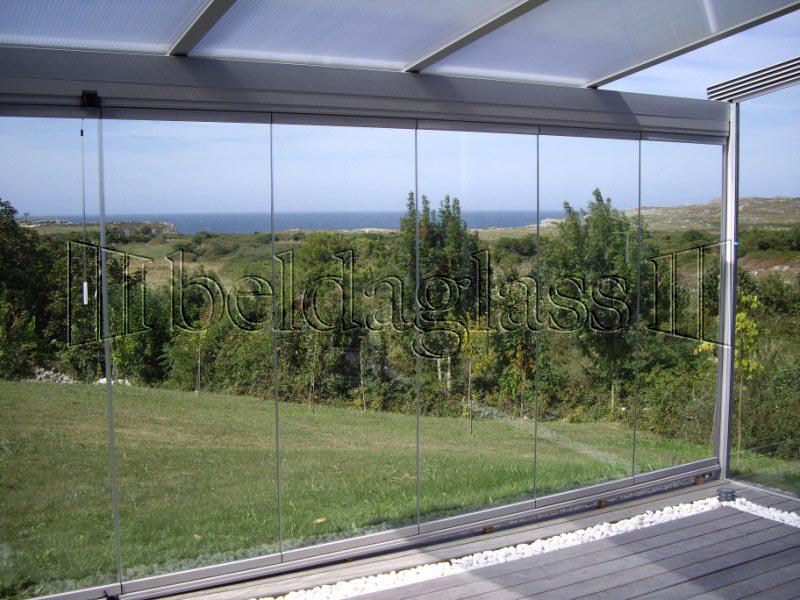 Cortinas de cristal para terrazas adraglass - Precio de cortinas de cristal ...
