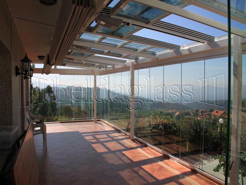 cortinas de cristal para terrazas adraglass On cortinas de cristal para terrazas
