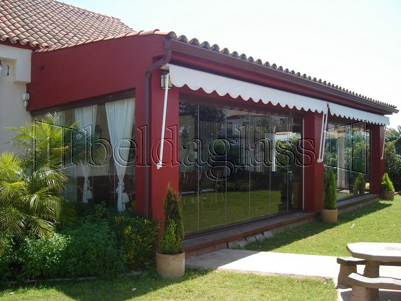 Cortinas de cristal para porches adraglass for Cortinas de cristal para terrazas
