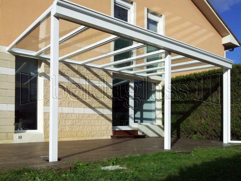 Techos fijos de cristal adraglass - Techados para terrazas ...