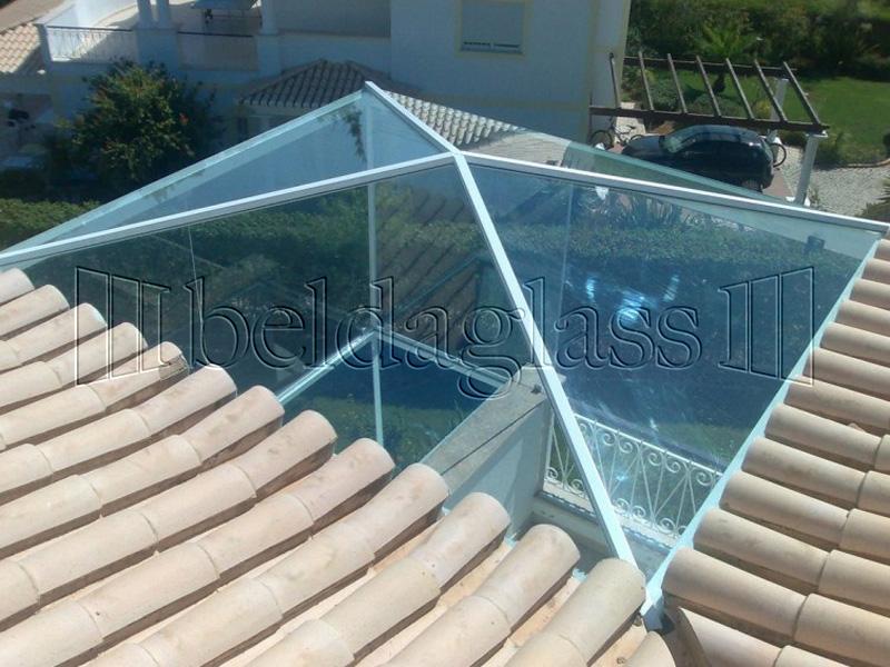Techos fijos de cristal adraglass - Cubiertas para patios ...