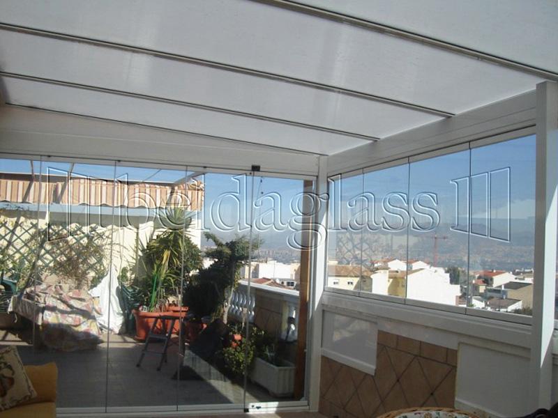 Techos fijos de policarbonato adraglass - Cubiertas para techos ...