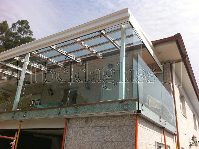 Techos moviles de cristal adraglass - Techos de cristal para terrazas ...