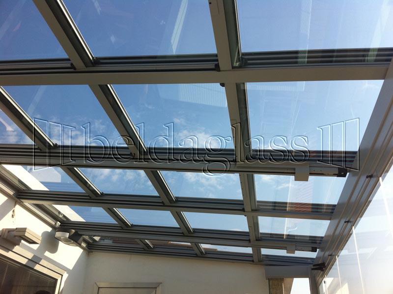 Techos moviles de cristal adraglass - Cubiertas para techos ...