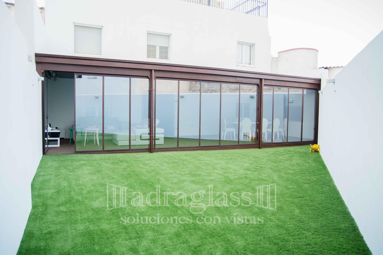 cortina de cristal termica