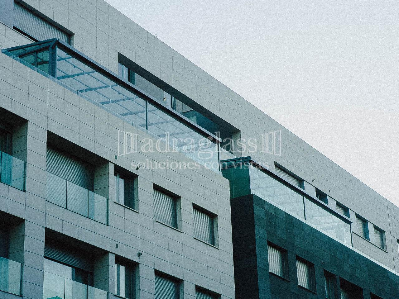 Techos moviles de cristal adraglass soluciones con vistas - Moviles de techo ...