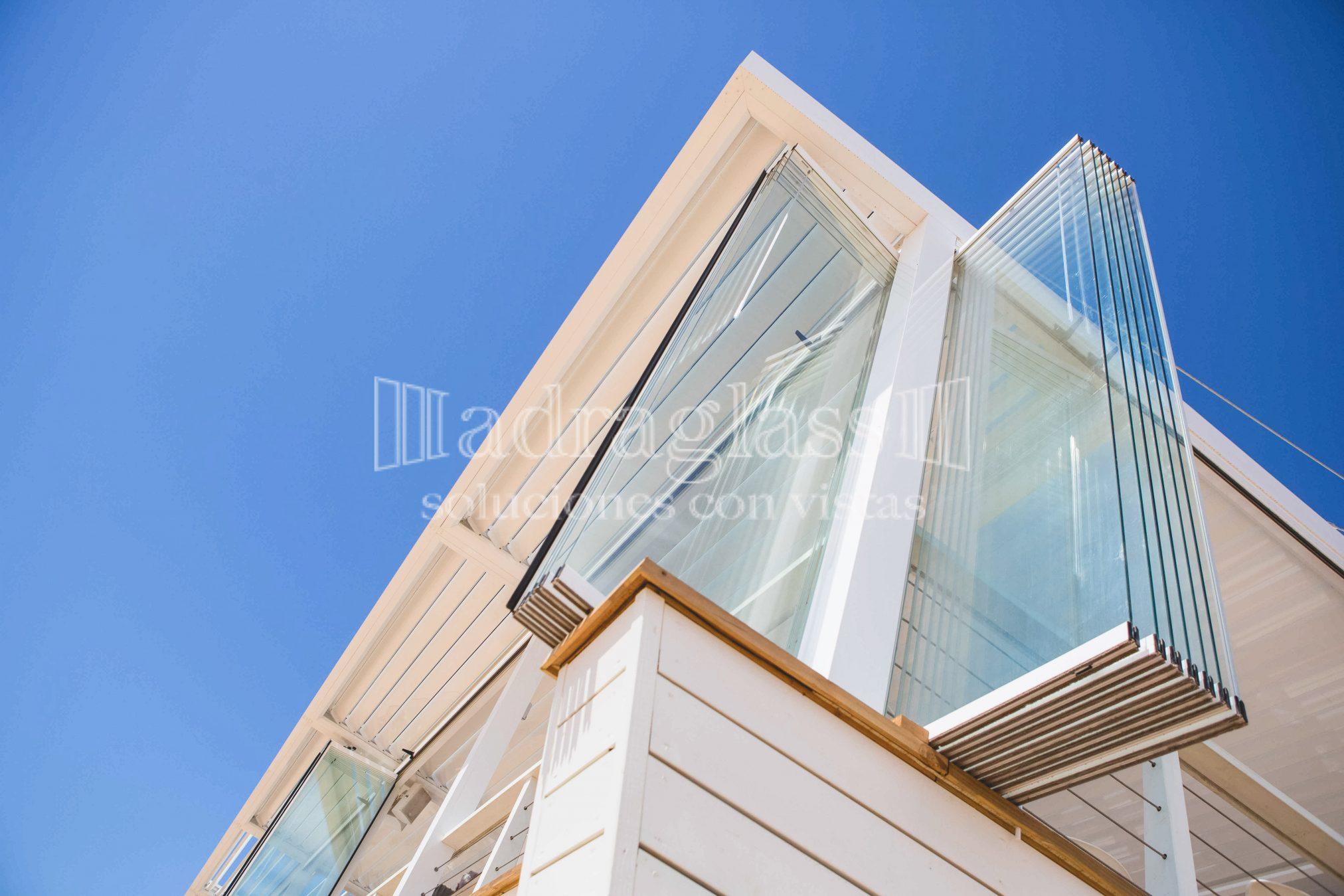 Adraglass cortinas de cristal para terrazas panor micas for Cortina cristal terraza