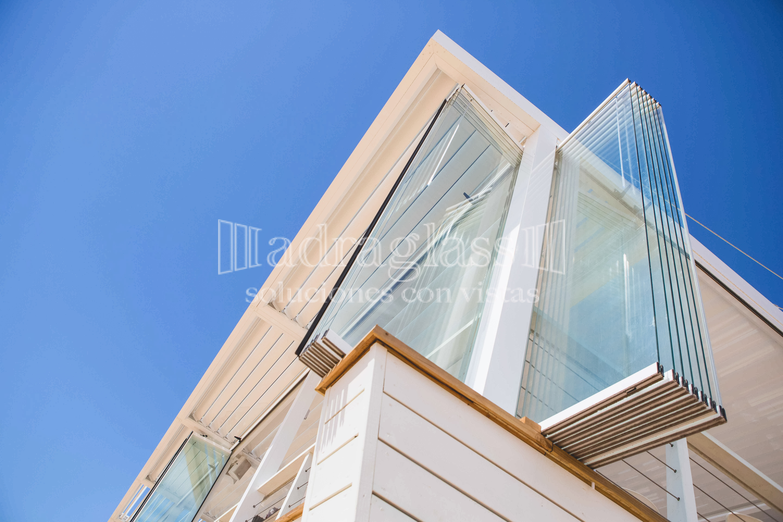 Cortinas de cristal para hosteler a adraglass for Cortina cristal terraza