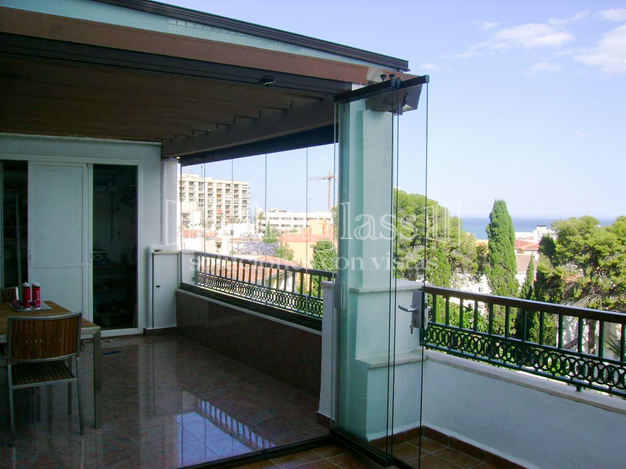 cortinas de cristal terrazas