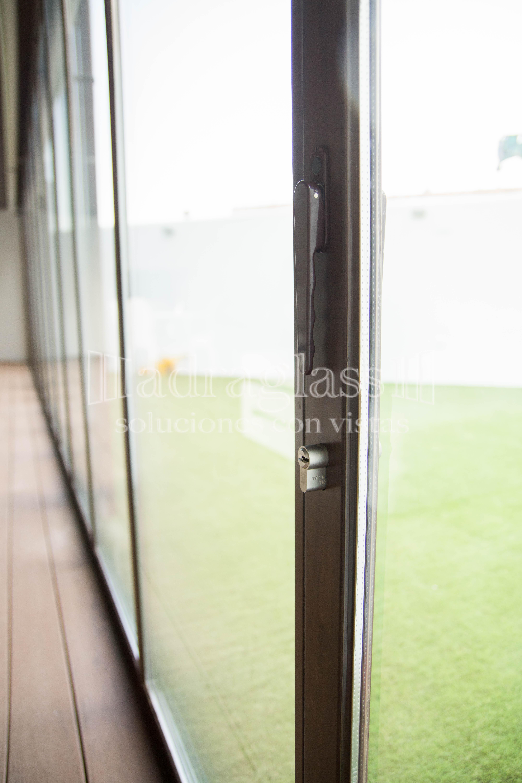cortina de cristal térmica
