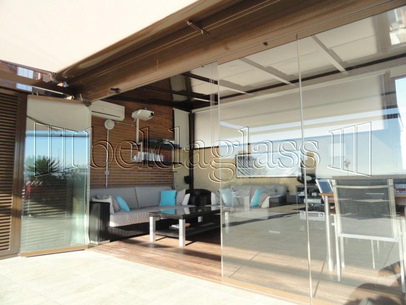 Cerramientos de porches adraglass - Fotos terrazas aticos ...