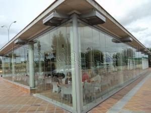 Cortinas de cristal para hosteleria