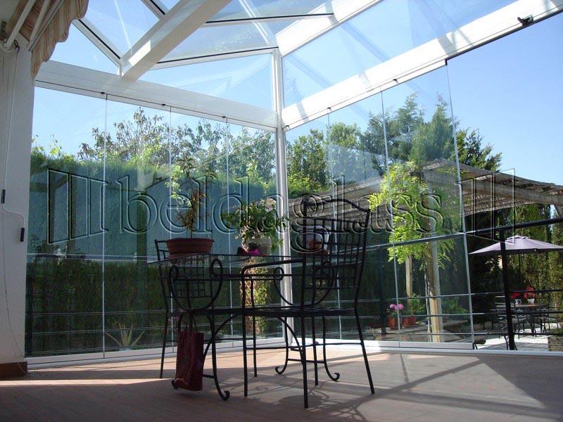 Techos fijos de cristal adraglass soluciones con vistas - Cubiertas de cristal para terrazas ...