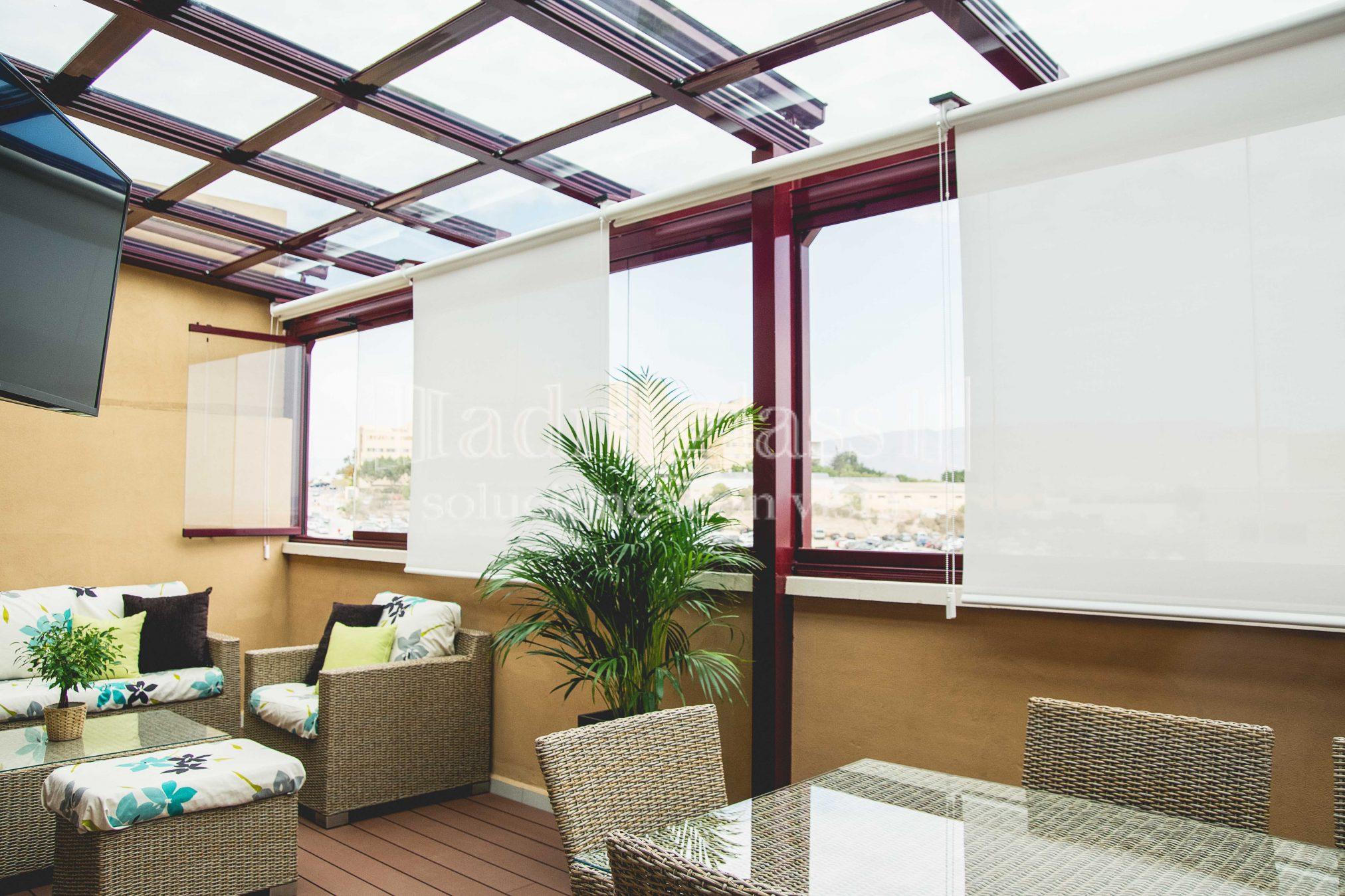 Cortinas y estores por adraglass soluciones con vistas - Todo cortinas y estores ...