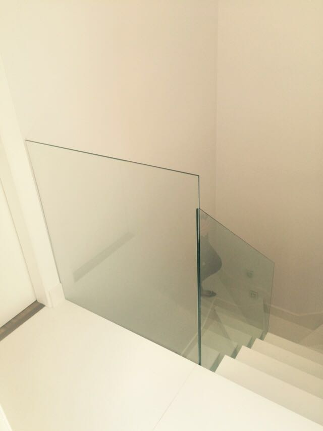 baranda cristal templado